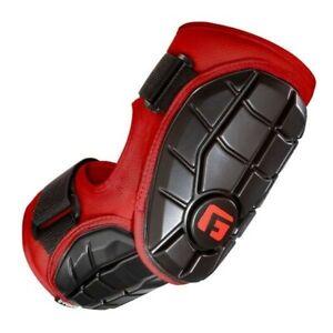 ELITE BATTER'S BASEBALL ELBOW GUARD RED L/XL
