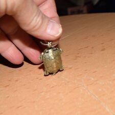 Antique Silver Tone TURTLE Or TORTOISE Locket Opens  c1880