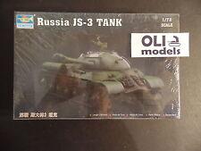 1/72 Russian JS-3 (IS-3) Stalin Heavy Tank - Trumpeter 07227