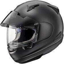 Arai QV Pro Frost Black Motorcycle Motorbike Helmet XS 53 - 54
