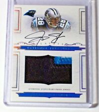 2008 National Treasures Rookie Jersey Patch Autograph Jonathan Stewart /99 RC