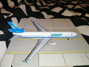 """Herpa Wings playboy McDonnell Douglas dc-9-30 jet privados /""""Bunny/"""" metal 1:200"""