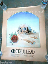 GRATEFUL DEAD-Concert Poster-COMIC ART-Stanley Mouse-Fillmore-Bill Graham-garcia