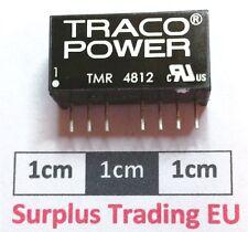 Traco TMR 4812 2W Isolated DC-DC Converter, Vin 36 - 75 V dc, Vout 12V dc, 165mA