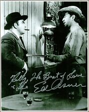 """Ed Asner, Mary Tyler Moore Actor, Signed 8"""" x 10"""" Photo, COA, UACC RD 036"""