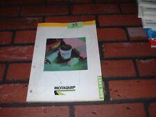 Catálogo de piezas originales motaquip Filtros. 1997