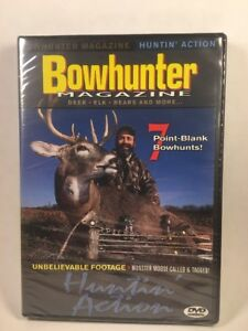 Bowhunter Magazine Moose Mayhem DVD Deer Moose Whitetail