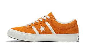 Converse One Star Academy OX Suede Men's Size 10 Orange Rind/Egret 165023C (NEW)