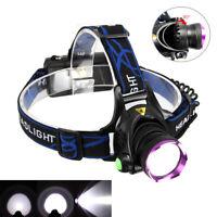 10000LM 3 Mode XM-L T6 LED 18650 Headlamp Headlight Flashlight Head Torch Light