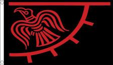 3' x 2' RAVEN VIKING FLAG Odinicraven Odin Odinic Raven Thor Norse Pagan Vikings