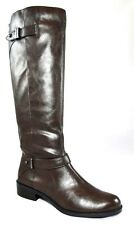 $129 ALFANI MABLE RIDING TALL KNEE HIGH BOOTS BUCKLED STRAPS Women's 5.5 35.5