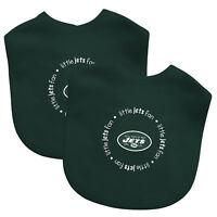 NFL Football New York Jets Baby Infant 2 Pack Bib NEW Team Logo Baby Fanatic