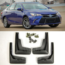 4 Pcs Set Front & Rear Fender Splash Guard Mud Flap For 2015-2017 Toyota Camry