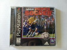 Adidas Power Soccer - PS1 Playstation Game tested complete free shipping