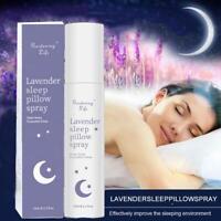 Lavender Oil Pillow Spray Bottle Bed Linen Mist Sleep -75ml Aid Relaxation