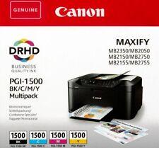 Canon ORIGINAL PGI 1500 Multipack Tinte, OEM* 4 Stück, PAYPAL> Sofortversand!