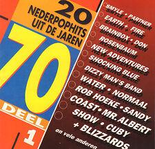 20 NEDERPOPHITS UIT DE JAREN 70 DEEL 1 t/m 5 (COMPLEET / 5 CD'S)
