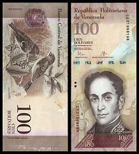 Venezuela  100  Bolívares  5-11-2015  Pick 93j  SC = UNC
