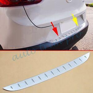 Rear Gate Bumper Sill Scuff Protector Stripe Trim For Mazda CX-3 CX3 2016-2020