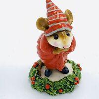 Wee Forest Folk Miniature Figurine Ebeneezer Scrooge CC 1 Christmas