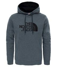 The North Face Homme Hoodie Logo Drew Peak Pullover Gris Medium