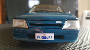 B182704A Holden HDT VK SS 1985 Commodore Group A Formula Blue 1:18 REFER TO NOTE