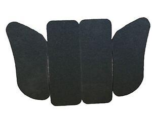 Kart Seat Padding Set 9mm Foam Self Adhesive Pair of SIDE Padding, Pair of REAR