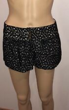 Just Ginger Boho Chic Bubble Lace Shorts Size Small