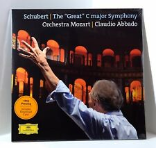 "Claudio Abbado Schubert's ""Great"" C major Symphony 180-gram VINYL 2xLP Sealed"
