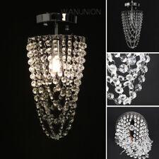 Crystal Chandelier Lighting Fixture Ceiling Lamp Pendant Light Flush Fitting
