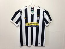 Juventus Football Club Italy Nike New Holland Fiat Jersey XXL Striped I116