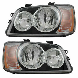 2001 2002 2003 FOR TY HIGHLANDER HEADLIGHTS RIGHT & LEFT PAIR