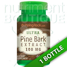 Pine Bark Extract 100mg 90 Caps French Maritime Piping Rock