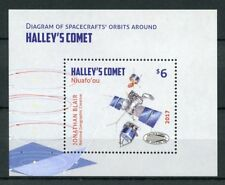 Niuafo'ou 2017 MNH Halleys Halley's Comet 1v M/S Space Stamps