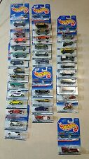Hot Wheels 1998 First Edition Nearly Complete Set 37 of 40!