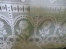 rideaux L 45 cm neuf avec rose vendu par tranche de 25  cm aspect nacré