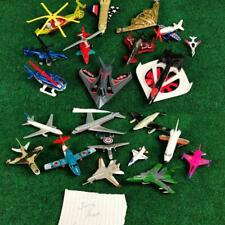 Diecast Airplanes Helocopter Junkyard Lot for Parts / Repair Matchbox Hot Wheels