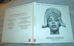 Beyonce Homecoming 2019 Dvd A Film Fyc Award Consideration Full Program Original