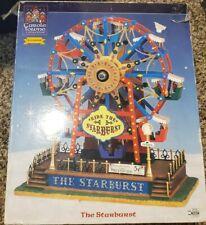 Lemax Ferris Wheel The Starburst Carnival Ride Animated Lights Motion Music