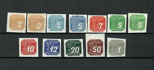 GERMANY BOHMEN & RAHMEN COLLECTION OF  MH STAMPS  LOT (GER 77)