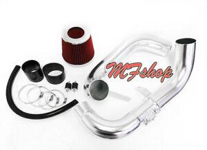 Black Red For 2006-2011 Honda Civic 1.8L L4 EX LX DX Cold Air Intake System Kit