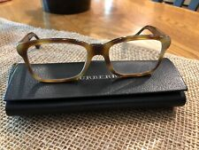BURBERRY B2149 3002 Eyeglasses Frame 53-18-140 Tortoise/Wood Brown,Made In Italy