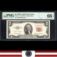 GEM 1953-B $2 LEGAL TENDER NOTE PMG 66 EPQ Fr 1511*   *03061656A