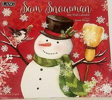 The LANG Companies Sam Snowman 2017 Wall Calendar Free Shipping 17991001939