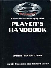 ALTERNITY PLAYER'S HANDBOOK 2800L LIMITED ED NUMBERED Sci-Fi Star Drive RPG TSR