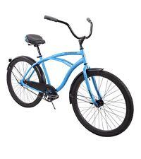 """Huffy 26"""" Cranbrook Men's Comfort Cruiser Bike, Matte Blue"""