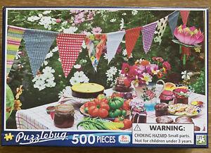 Puzzles: Puzzlebug Jigsaw Puzzle - Garden Party (500 pieces)