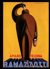 Ramazzotti -- Amaro Felsina -- Poster-Plakat - Farbe-