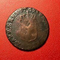 #1500 - RARE - Louis XV Demi sol à la vieille tête 1769 D Lyon - FACTURE
