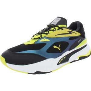 Puma Mens RS Fast Royal Fl MEsj Mesh Fashion Sneakers Shoes BHFO 3121